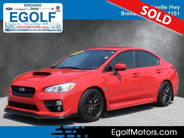 2015 Subaru WRX  - Egolf Motors