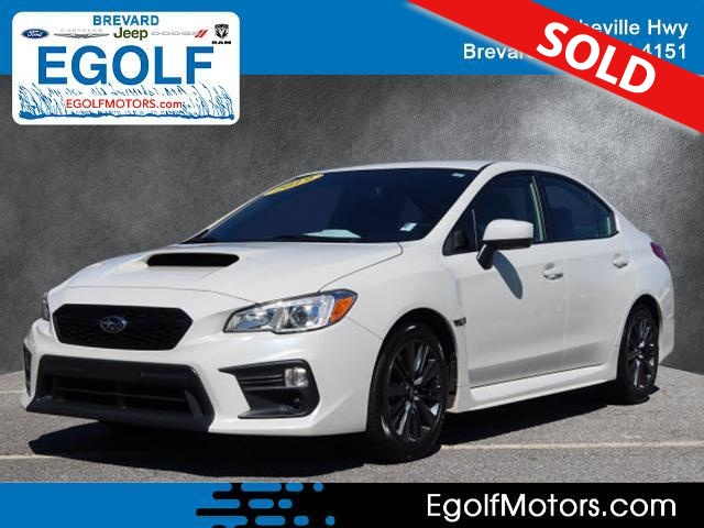 2019 Subaru WRX  - Egolf Motors