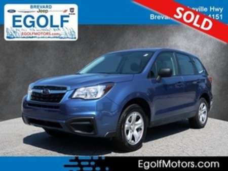 2018 Subaru Forester 2.5i for Sale  - 21744A  - Egolf Motors