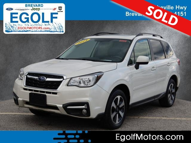 2018 Subaru Forester  - Egolf Motors