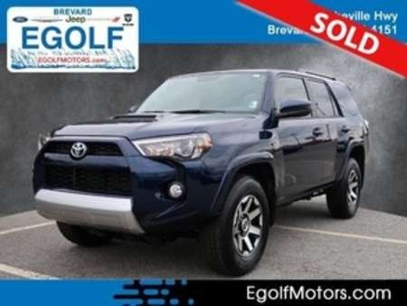 2019 Toyota 4Runner TRD Off-Road 4WD for Sale  - 5047A  - Egolf Motors