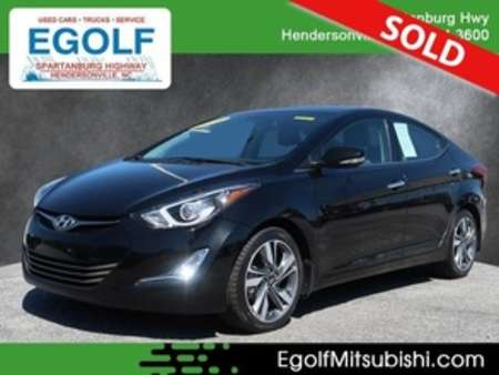2016 Hyundai Elantra Limited for Sale  - 7665  - Egolf Motors