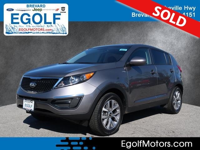 2016 Kia Sportage  - Egolf Motors