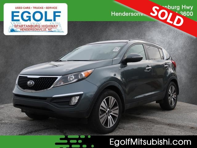 2014 Kia Sportage  - Egolf Motors