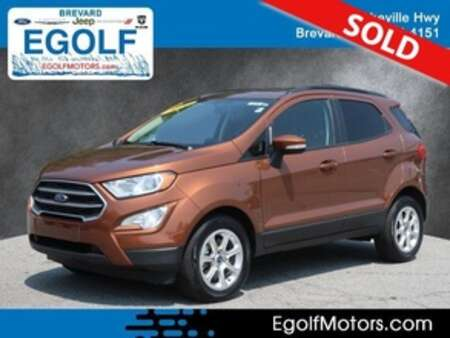 2020 Ford EcoSport SE FWD for Sale  - 5210  - Egolf Motors