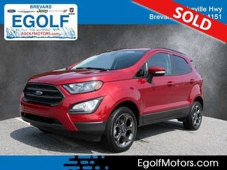 2018 Ford EcoSport SES 4WD for Sale  - 10792  - Egolf Motors