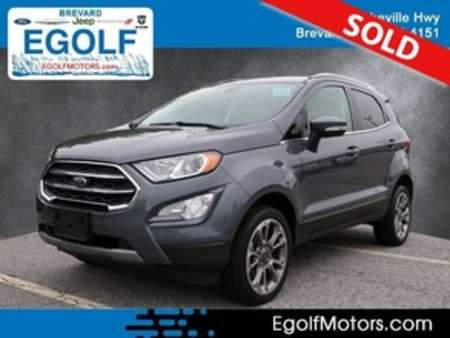 2019 Ford EcoSport Titanium 4WD for Sale  - 10965  - Egolf Motors