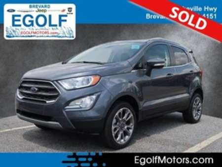 2019 Ford EcoSport Titanium 4WD for Sale  - 10964  - Egolf Motors