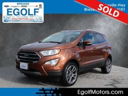 2019 Ford EcoSport Titanium 4WD for Sale  - 10921  - Egolf Motors