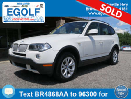 2010 BMW X3 xDrive30i for Sale  - 4868AA  - Egolf Motors