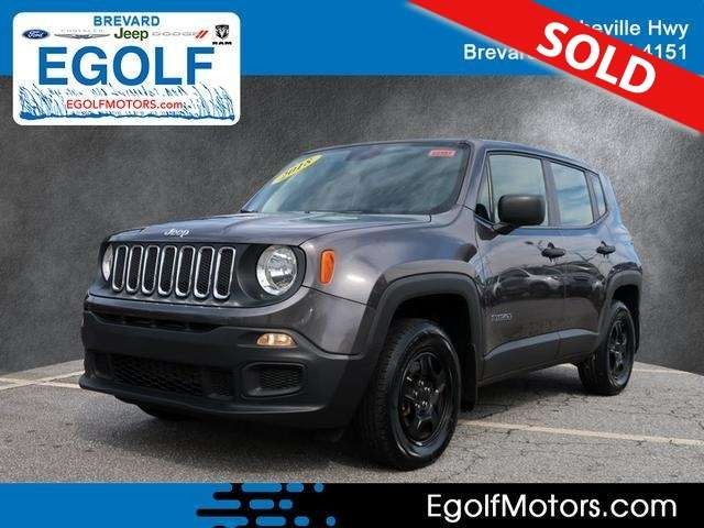2018 Jeep Renegade Spor