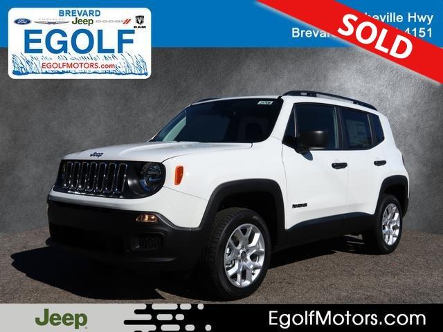 2018 Jeep Renegade  - Egolf Motors