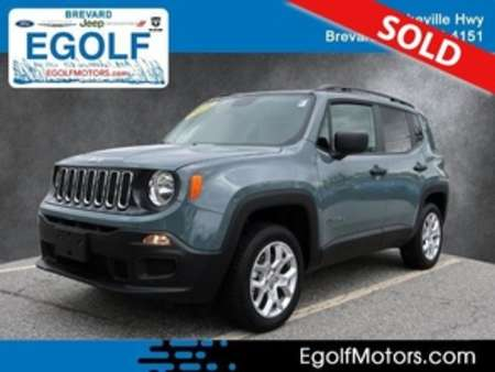 2018 Jeep Renegade Sport for Sale  - 10888A  - Egolf Motors