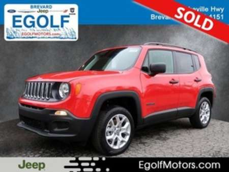 2018 Jeep Renegade Sport for Sale  - 21727  - Egolf Motors