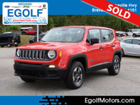 2015 Jeep Renegade Sport 4WD for Sale  - 82478A  - Egolf Motors