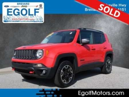 2017 Jeep Renegade Trailhawk for Sale  - 10781B  - Egolf Motors