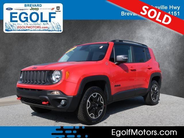 2017 Jeep Renegade  - Egolf Motors