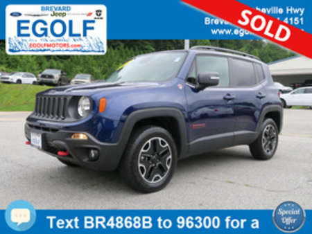 2016 Jeep Renegade Trailhawk for Sale  - 4868B  - Egolf Motors