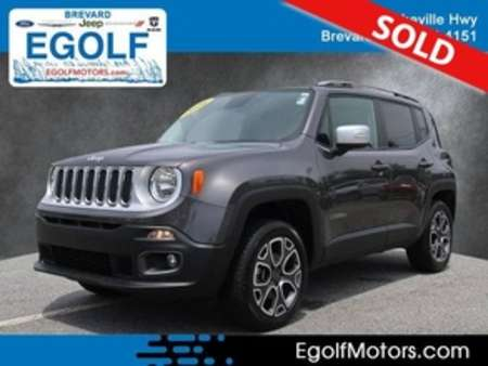2016 Jeep Renegade Limited 4WD for Sale  - 10783B  - Egolf Motors
