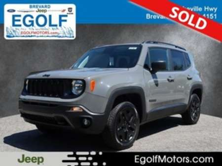 2019 Jeep Renegade SPORT 4X4 for Sale  - 21787  - Egolf Motors