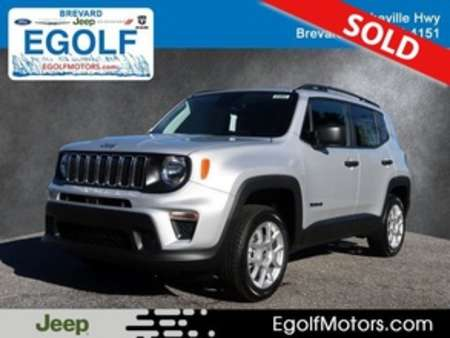 2020 Jeep Renegade SPORT 4X4 for Sale  - 21853  - Egolf Motors