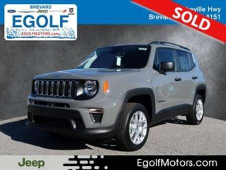 2020 Jeep Renegade SPORT 4X4 for Sale  - 21829  - Egolf Motors