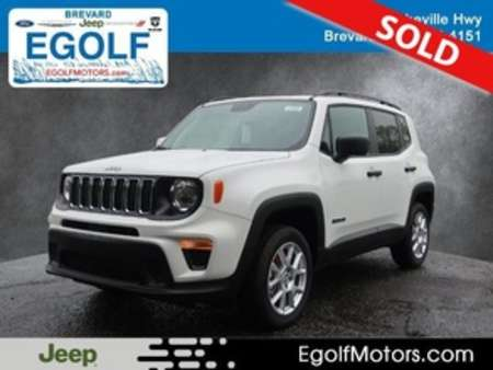 2020 Jeep Renegade Sport for Sale  - 21908  - Egolf Motors