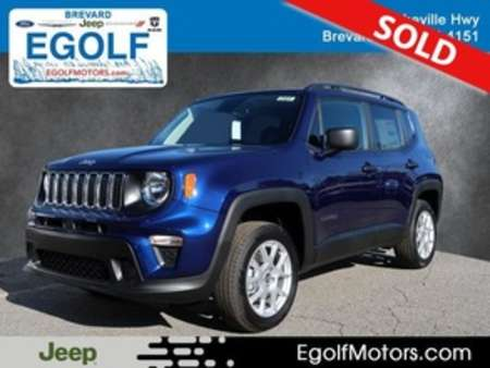 2020 Jeep Renegade Sport for Sale  - 21831  - Egolf Motors
