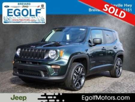 2021 Jeep Renegade SPORT 4X4 for Sale  - 22031  - Egolf Motors