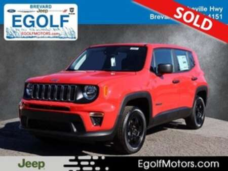 2021 Jeep Renegade SPORT 4X4 for Sale  - 22047  - Egolf Motors