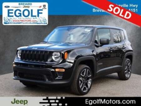 2021 Jeep Renegade SPORT 4X4 for Sale  - 22048  - Egolf Motors