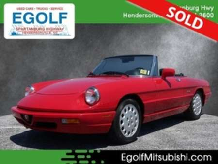 1992 Alfa Romeo Spider Veloce for Sale  - 004671  - Egolf Motors