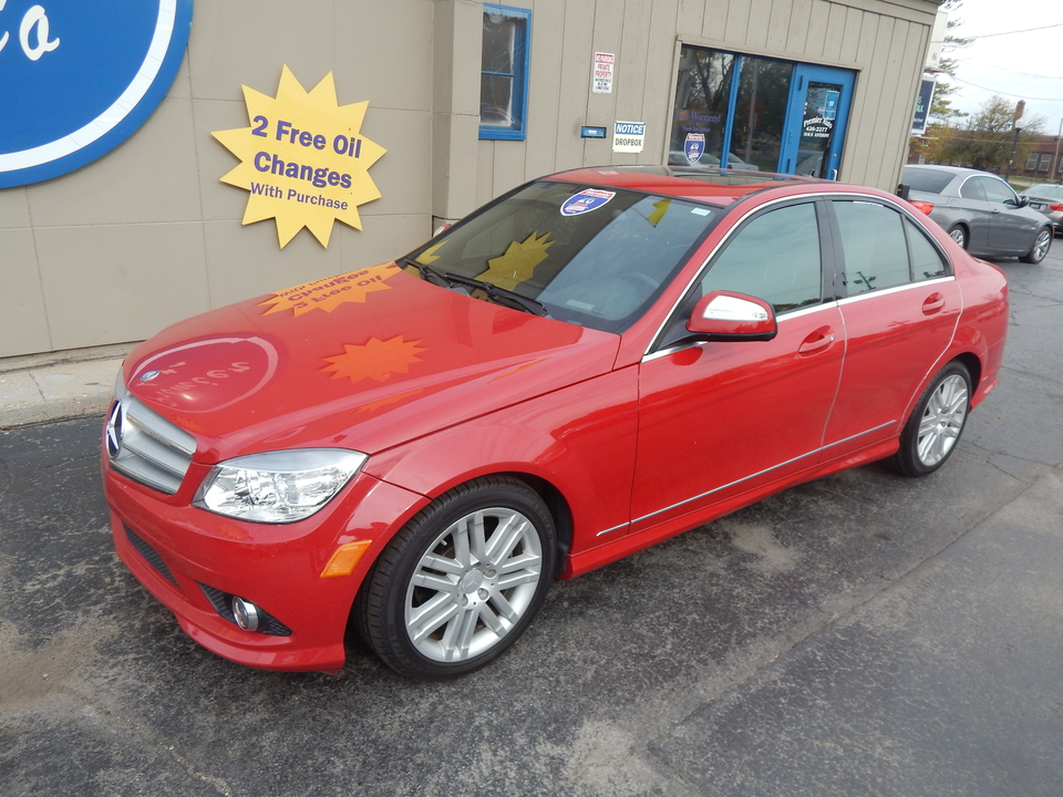 2009 Mercedes-Benz C-Class 3.0L Sport  - 075106  - Premier Auto Group