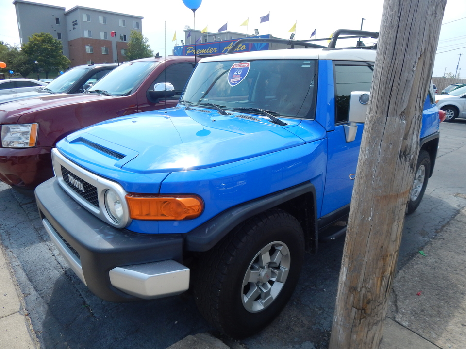 2008 Toyota FJ Cruiser  - 001318  - Premier Auto Group