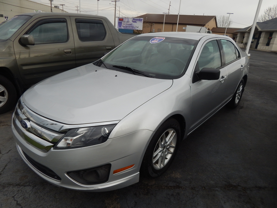 2012 Ford Fusion S  - 110490A  - Premier Auto Group