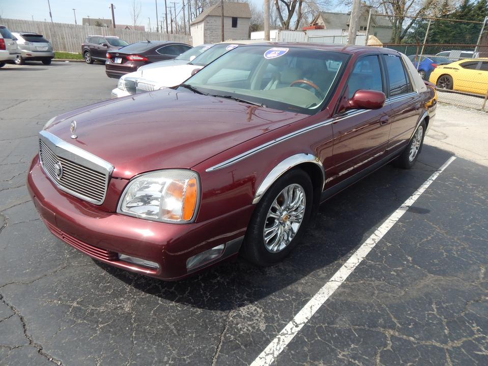 2000 Cadillac DTS DeVille  - 339906  - Premier Auto Group