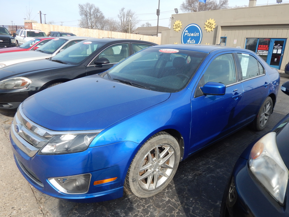 2012 Ford Fusion SEL  - 115207  - Premier Auto Group