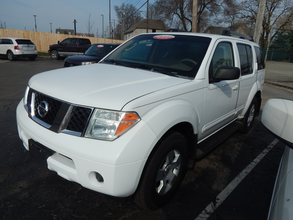2006 Nissan Pathfinder S  - 640945  - Premier Auto Group