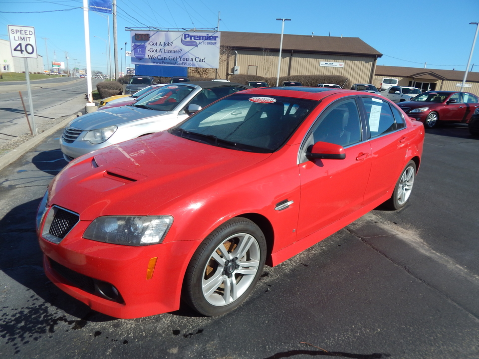 2008 Pontiac G8  - 149977  - Premier Auto Group