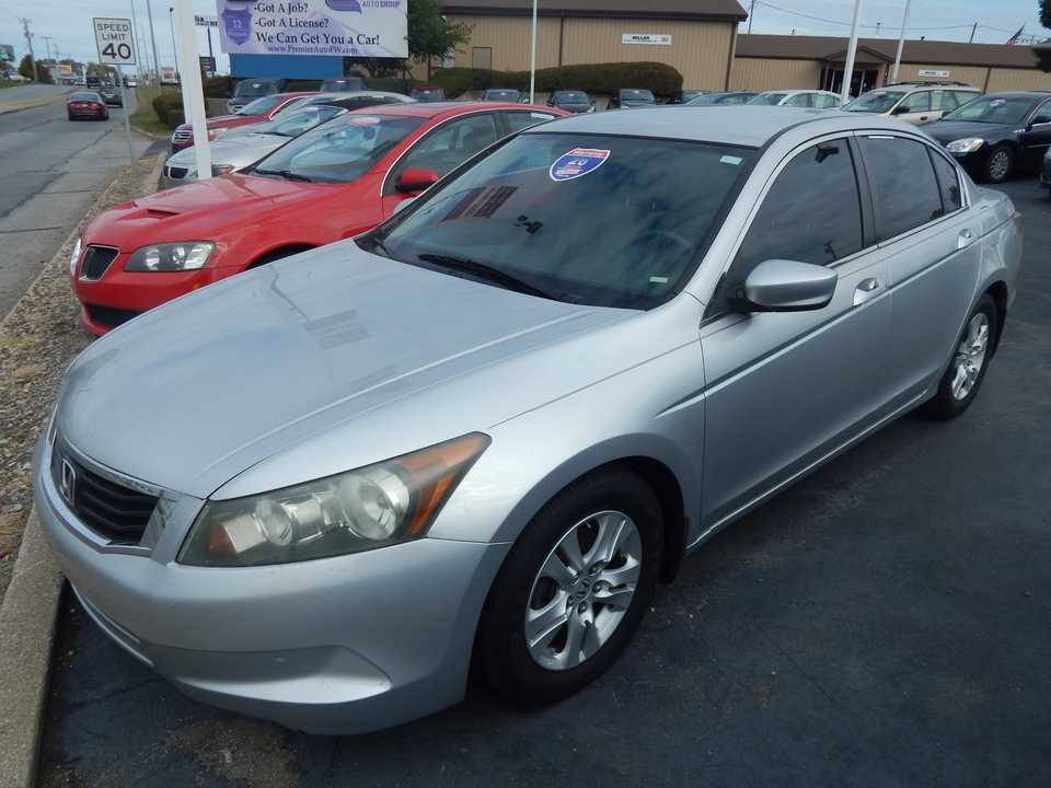 2008 Honda Accord LX-P  - 029943  - Premier Auto Group