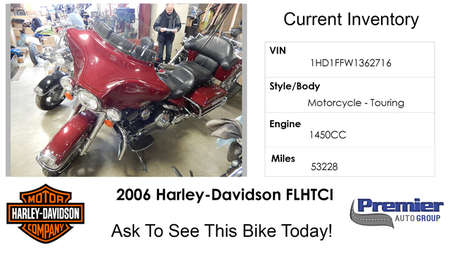 2006 Harley-Davidson FLH  for Sale  - 362716  - Premier Auto Group