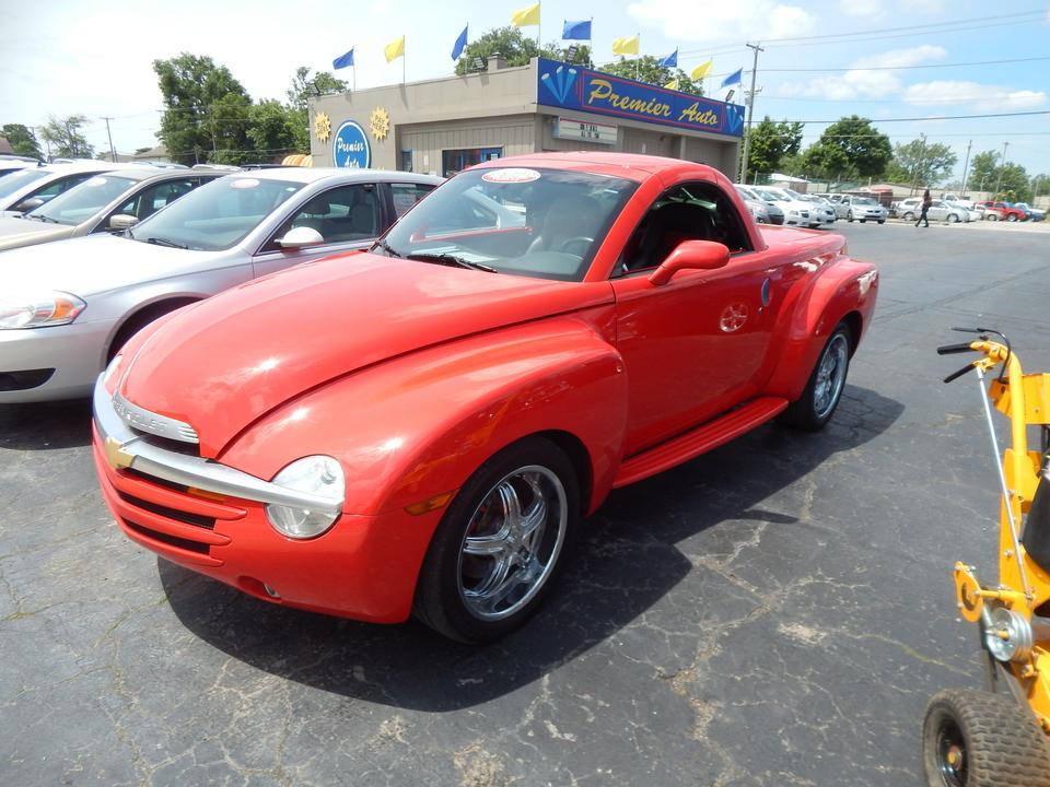 2003 Chevrolet SSR LS  - 100416  - Premier Auto Group