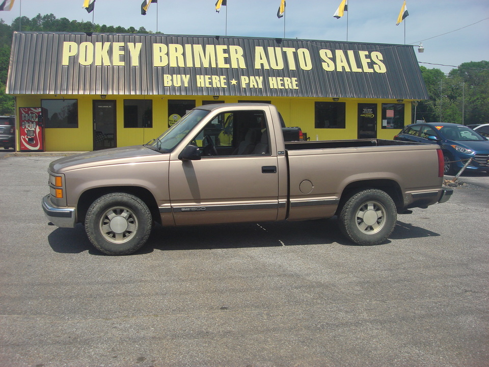 1997 GMC Sierra 1500  - 7091  - Pokey Brimer