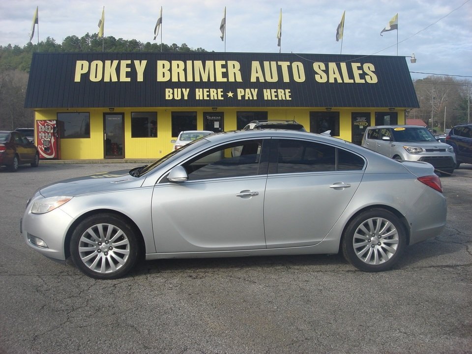 2012 Buick Regal  - 7228  - Pokey Brimer
