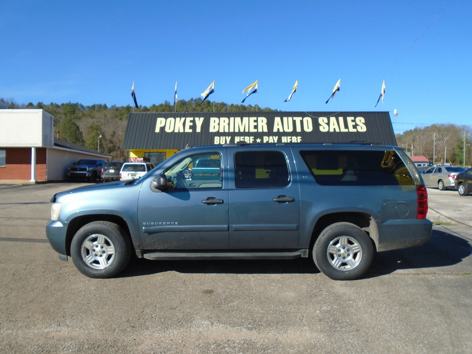 2008 Chevrolet Suburban - 3RD ROW SEATING  - 7458  - Pokey Brimer