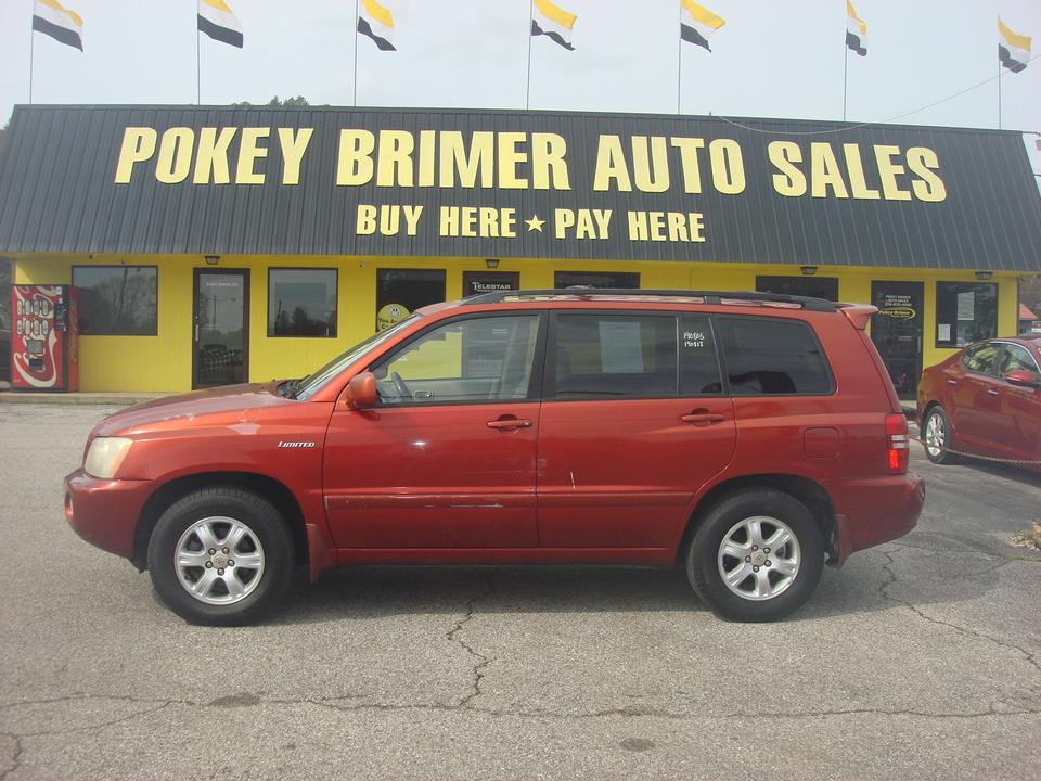 2002 Toyota Highlander  - 6358  - Pokey Brimer