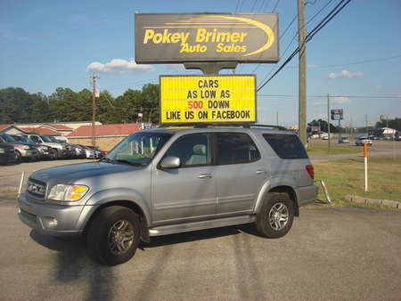 2003 Toyota Sequoia Limited for Sale  - 6994  - Pokey Brimer