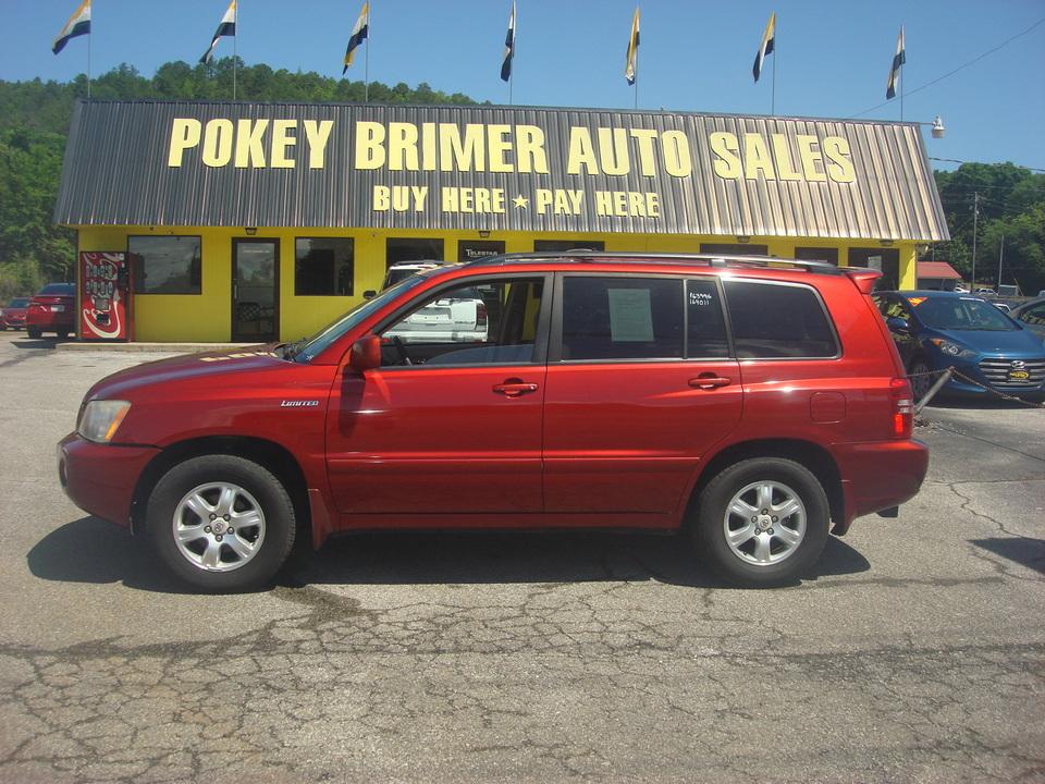 2002 Toyota Highlander  - 7106  - Pokey Brimer