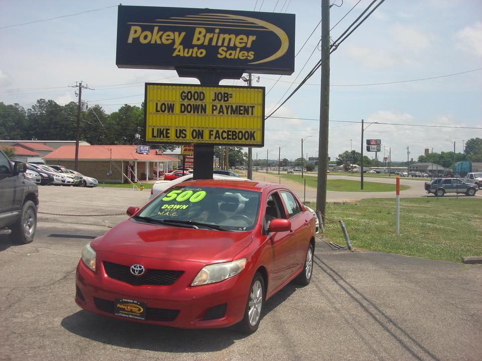 2010 Toyota Corolla  - Pokey Brimer