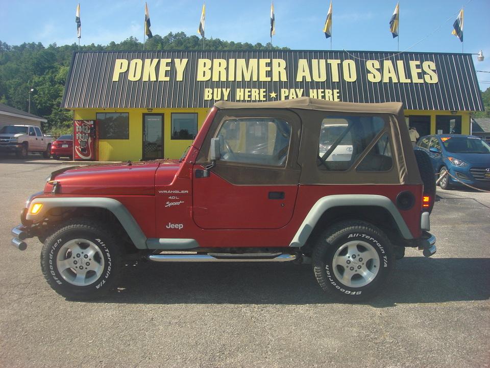 2000 Jeep Wrangler  - 6067TA  - Pokey Brimer